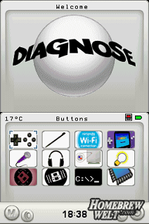 diagnose menu