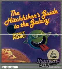 Hitchhikers Guide box art